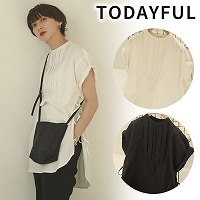 【SOLD OUT】TODAYFUL(トゥデイフル)Halfsleeve Dress Shirts 12010421