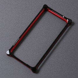 Solid Bumper for iPhone11pro (RADIO EVA Limited) (Black×Red(NERV))