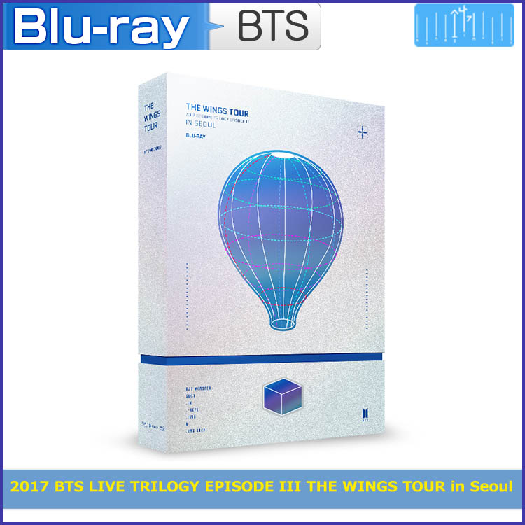 BLURAY / 2017 BTS LIVE TRILOGY EPISODE III THE WINGS TOUR in Seoul/リージョンコード:ALL / 日本国内発送/1次予約/特典DVD終了