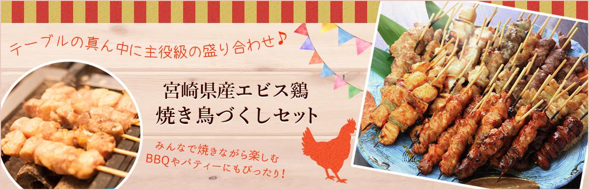 鶏肉なら宮崎産地直送のエビス通販
